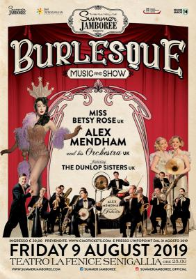Summer Jamboree, serata del 9 agosto all'insegna del burlesque