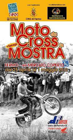 Moto da Cross Vintage in mostra
