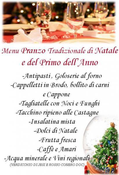 Menu Di Natale Tradizionale Veneto.Pranzo Di Natale Al Santuario Di Loreto Loreto An 25 12 2012 Marche In Festa