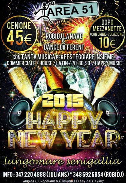 capodanno area 51   senigallia   happy new year 2015