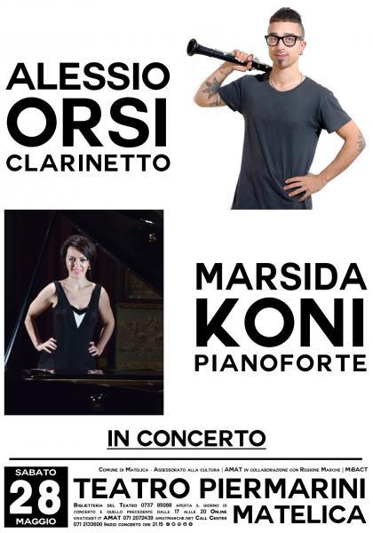 Alessio Orsi e Marsida Koni in