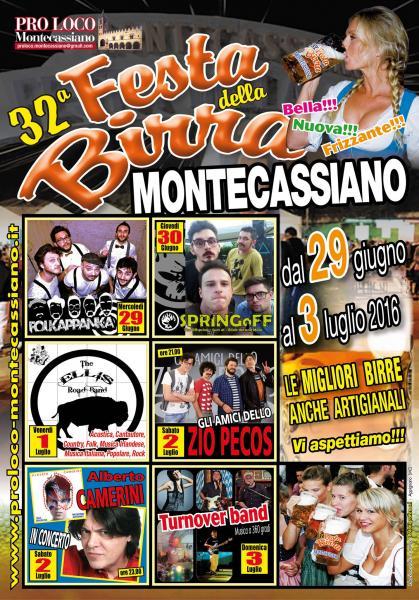 32° FESTA DELLA BIRRA MONTECA