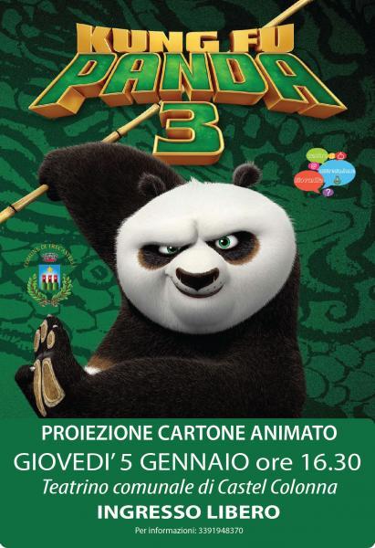 Kung fu panda trecastelli an marche in festa
