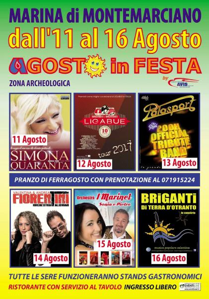 Agosto in festa by Avis Montemarciano