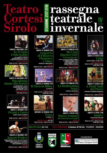 Stagione Teatrale invernale 2017-2018