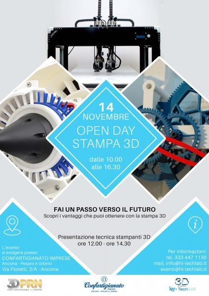 Open Day Stampa 3D