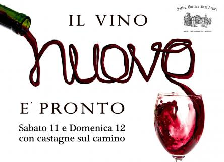 Weekend con il Vino Nuovo in cantina storica