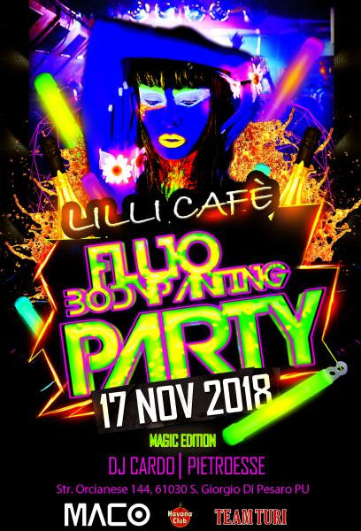 FLUO BODY PAINTING PARTY