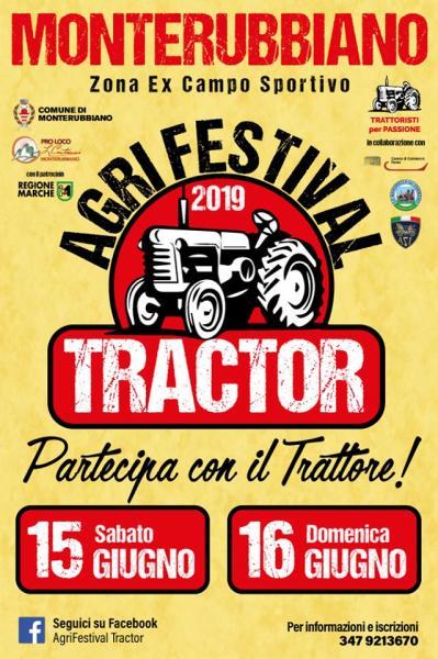 Calendario Manifestazioni Trattori D Epoca.Agrifestival Tractor 15 E 16 Giugno 2019 Monterubbiano Fm