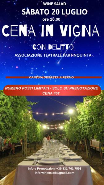 Cena in Vigna con Delitto